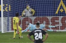 Late penalty drama as Real Madrid are held by Villarreal