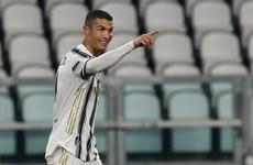 Cristiano Ronaldo inspires Juve, Atalanta suffer setback ahead of Liverpool trip
