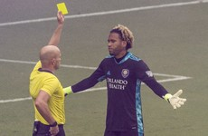 Chaotic shootout sees 'keeper sent off and defender make match-winning save as Orlando City reach play-offs
