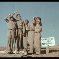 Video: Six men stand under atomic test... and walk away unharmed