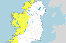 Status Yellow warning for the west as heavy rainfall set to sweep in from tomorrow
