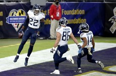 Henry powers Titans to come-from-behind overtime win over Ravens