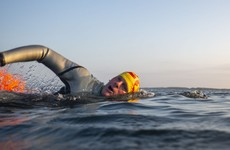 This Donegal man is aiming to become the first person to swim around the coast of Ireland
