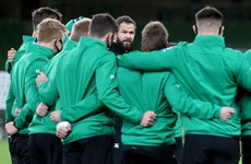 'We don't want to just be handing out caps' - Ireland stick with autumn squad