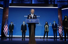 Biden says his team will show the US is back on the world stage