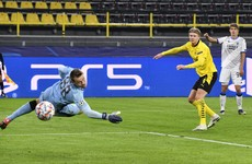 Haaland breaks another Champions League record as Dortmund close in on last-16 spot