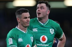 'It's something I've enjoyed, but Johnny is team captain' - James Ryan
