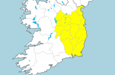 Status Yellow fog warning in place for 12 counties