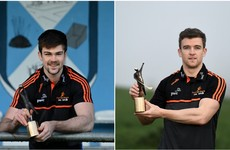 Cavan and Clare stars are crowned the latest GAA player of the month winners