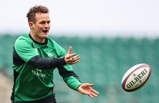Burns makes first start at 10 with Daly set for Ireland debut off bench
