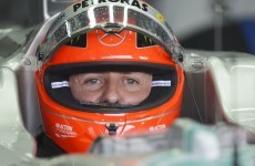 Schumacher admits to brain fade before crash