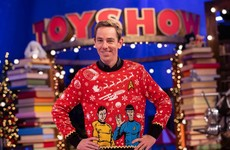 Photos: An early peek at the Toy Show set and the performance that moved Ryan Tubridy to tears