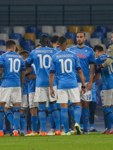'He has always stood up for us' - Napoli honour Maradona amid Europa League win