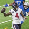 Watson throws for four touchdowns as Texans brush aside Lions on Thanksgiving