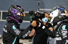 Lewis Hamilton seals another dominant pole position in Bahrain