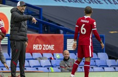 Thiago still 'weeks' away from return as Klopp rues costly Everton clash