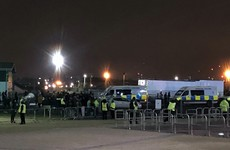 Police investigating Celtic protests that left three officers injured