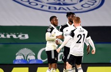 Lookman on the mark as Fulham move out of drop zone with shock victory at Leicester