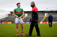 Horan feels Mayo are benefiting without 'anxiety' of crowds