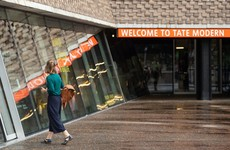 Boy thrown from Tate Modern balcony making progress and walking with help of cane
