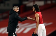 'There was no malicious intent at all' - Solskjaer says Man United will support Cavani over use of racist term