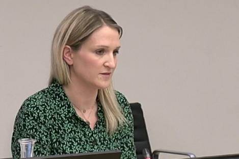 Justice MInister Helen McEntee.