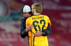 'My phone has been hopping' - Kelleher hails Champions League debut for Liverpool