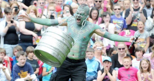 Photos: The Street Performance World Championships in Dublin