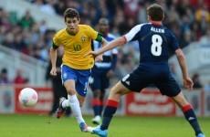 Preliminaries: Oscar has taken Chelsea medical