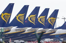 Ryanair suffers 82% drop in passenger numbers in November