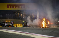 'I saw death too closely' - F1 driver describes horrific 140mph crash after leaving hospital
