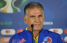 Carlos Queiroz sacked by Colombia after their worst defeat in four decades