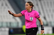 'About time' - history made as Frappart becomes first female to referee men's Champions League clash