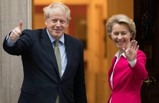 Boris Johnson and Ursula von der Leyen to hold emergency talks on Brexit deal
