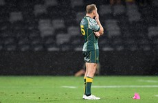 Hodge misses late penalty as draw between Argentina and Australia sees All Blacks win Tri Nations