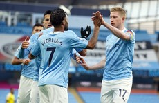 Man City move into top four with win