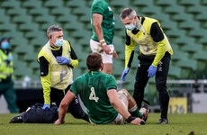 Concern for Ulster as Iain Henderson set for scan on knee injury