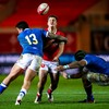 Wales conclude Autumn Nations Cup with stuttering win over Italy