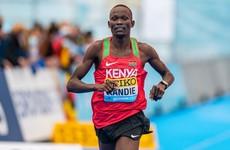 Half-marathon world record smashed by Kenya's Kibiwott Kandie