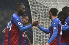 Crystal Palace run riot with Benteke and Zaha at the double
