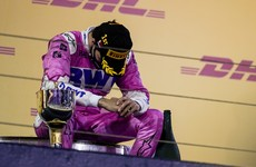 Sergio Perez, who may be out of work next season, races from last to claim first F1 victory