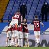 Milan battle past Sampdoria to maintain five-point lead atop Serie A