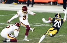 Washington snap Pittsburgh Steelers' unbeaten run