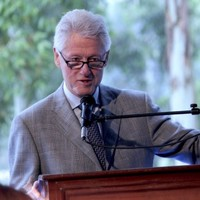 Bill Clinton is cheating on us...with Greece