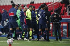 PSG/Istanbul CL tie abandoned as players walk off in protest at alleged racist slur from official