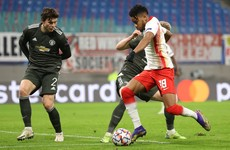 Man United crash out of Champions League with defeat to RB Leipzig