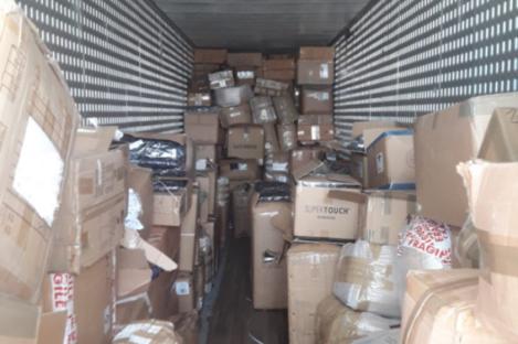 The items seized by gardaí
