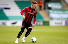The PFAI Young Player of the Year looks set for a move abroad