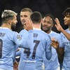 Aguero scores on injury-return as Man City finish group stage with 3-0 win