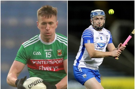 Cillian O'Connor and Stephen Bennett.